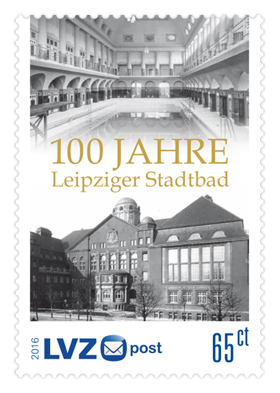 Briefmarke Stadtbad 65ct
