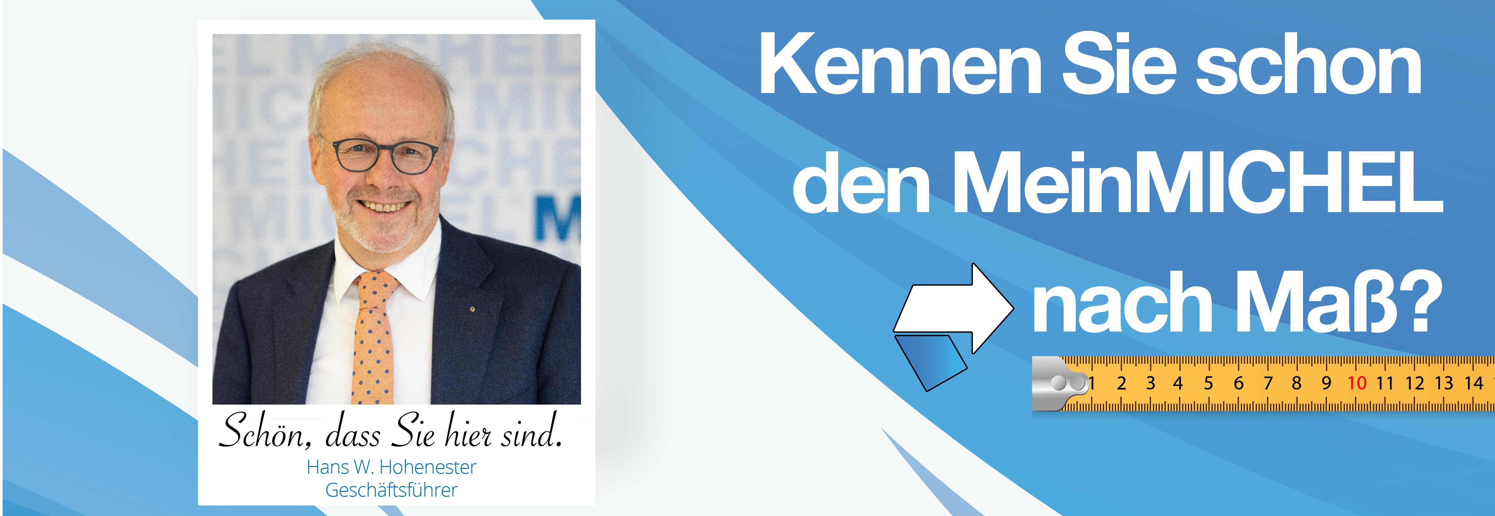 Hans W. Hohenester - MeinMICHEL nach Maß