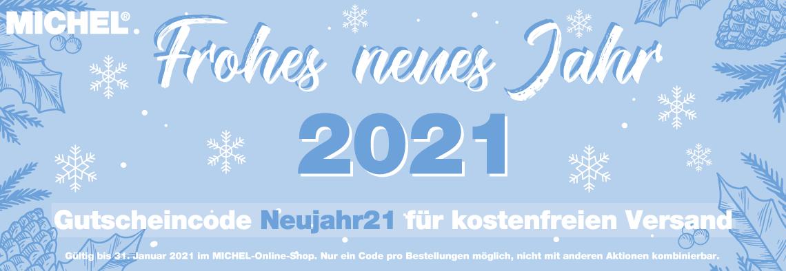 MICHEL wünscht ein frohes Jahr 2021