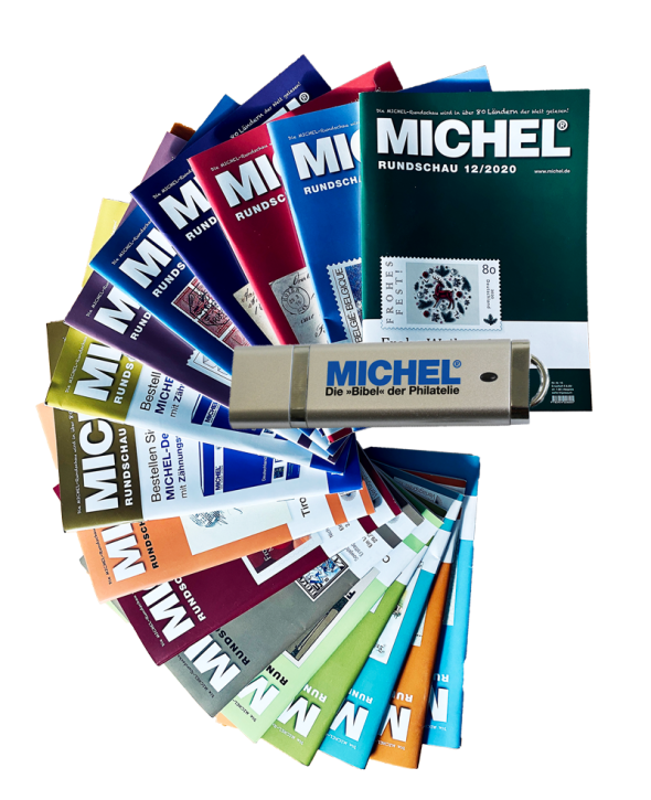 MICHEL Rundschau year 2020 on USB stick