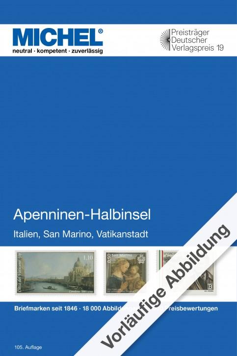 Apenninen-Halbinsel 2020 (E 5)