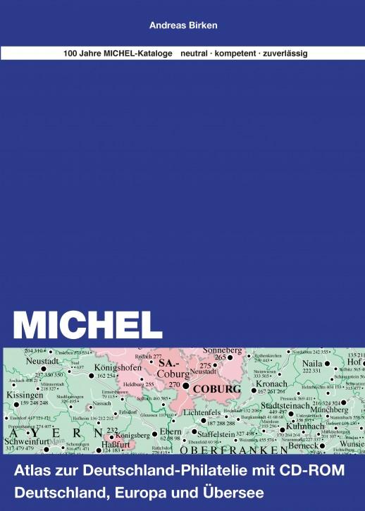 Atlas zur Deutschland-Philatelie inkl. CD-Weltatlas