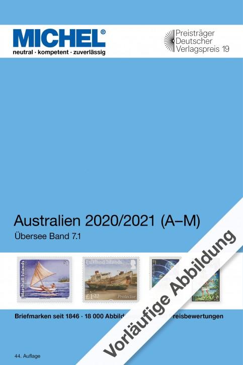 Australien/Ozeanien/Antarktis 2020/2021 (Ü 7.1) – Band 1 A-M