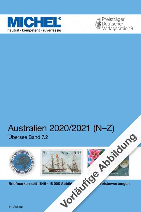 Australien/Ozeanien/Antarktis 2020/2021 (Ü 7.2) – Band 2 N-Z