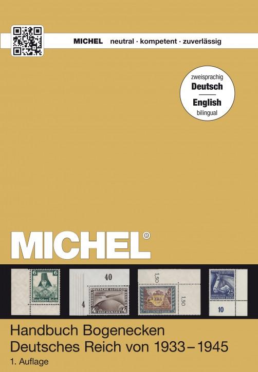 Handbuch-Katalog Bogenecken Deutsches Reich – Deutsch/Englisch (E-Book)