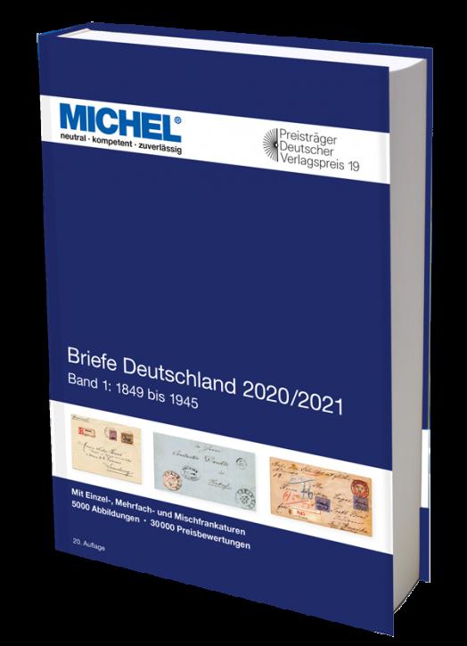Briefe Deutschland 2020/2021 - Band 1: 1849 bis 1945