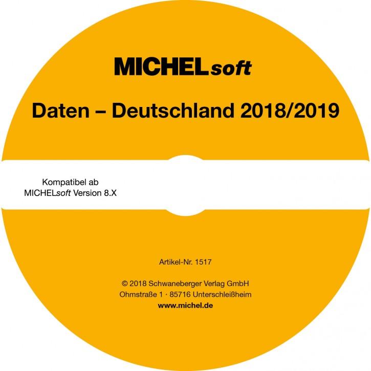MICHEL-Daten/Update 2018/2019 Briefmarken Deutschland – für Soft