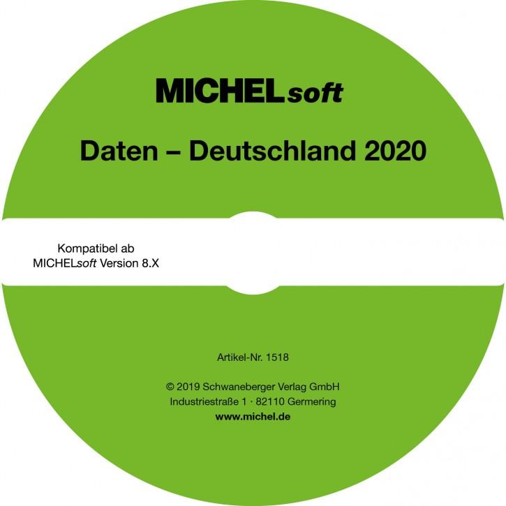 MICHEL-Daten/Update 2020 Briefmarken Deutschland – für Soft