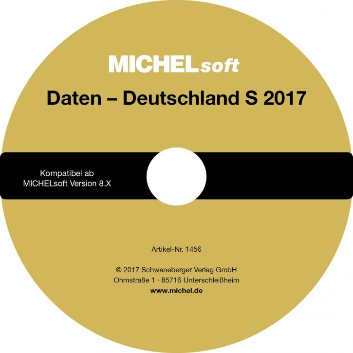 MICHEL-Daten/Update 2017 Briefmarken Deutschland S – für Soft