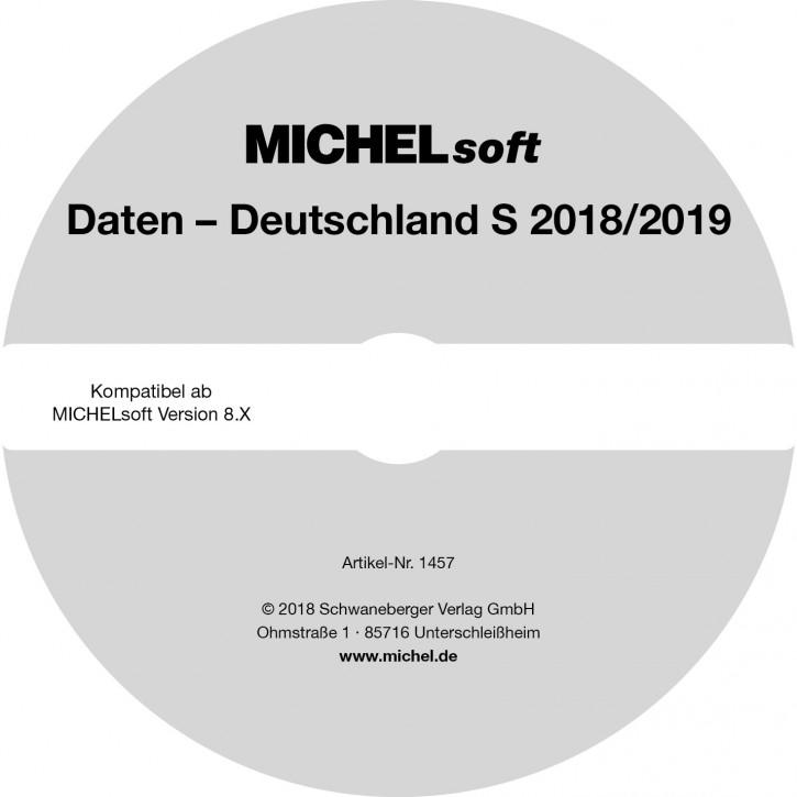 MICHEL-Daten/Update 2018/2019 Briefmarken Deutschland S – für Soft