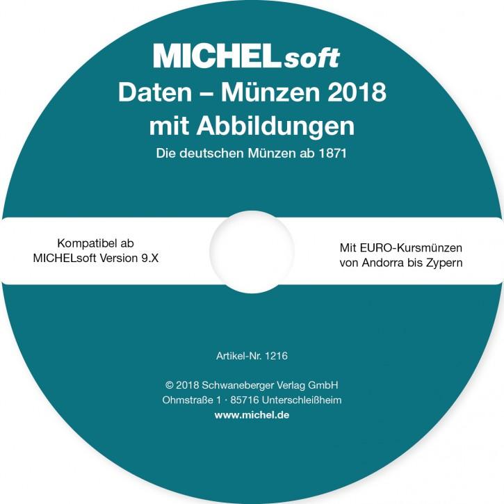 MICHEL-Daten/Update 2018 Münzen Deutschland – für Soft