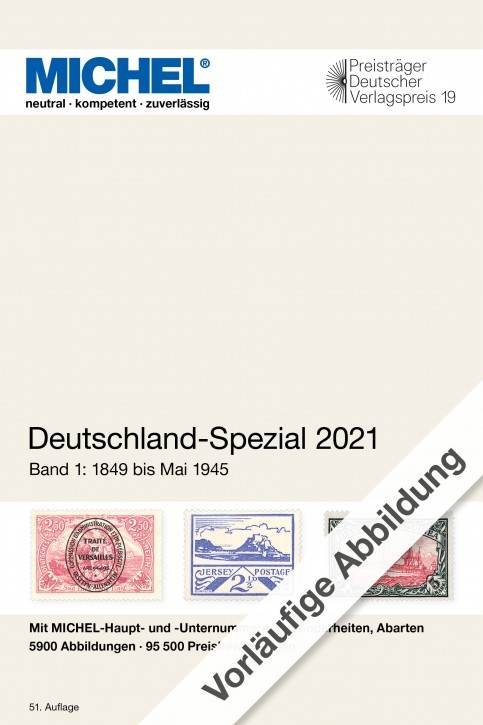 Germany Specialized 2021 – Volume 1 (1849–April 1945)
