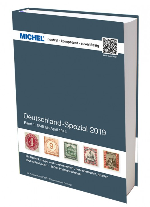 Germany Specialized 2019 – Volume 1 (1849–April 1945)
