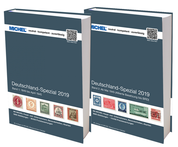 Germany Specialized 2019 Volume 1 and 2