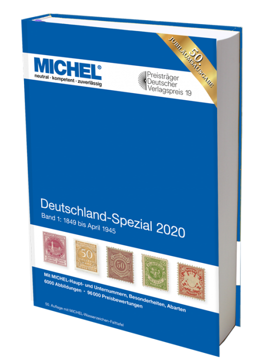 Germany Specialized 2020 – Volume 1 (1849–April 1945)