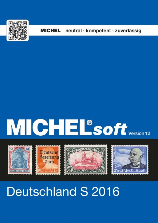 MICHELsoft Briefmarken Deutschland S 2016 – Version 12