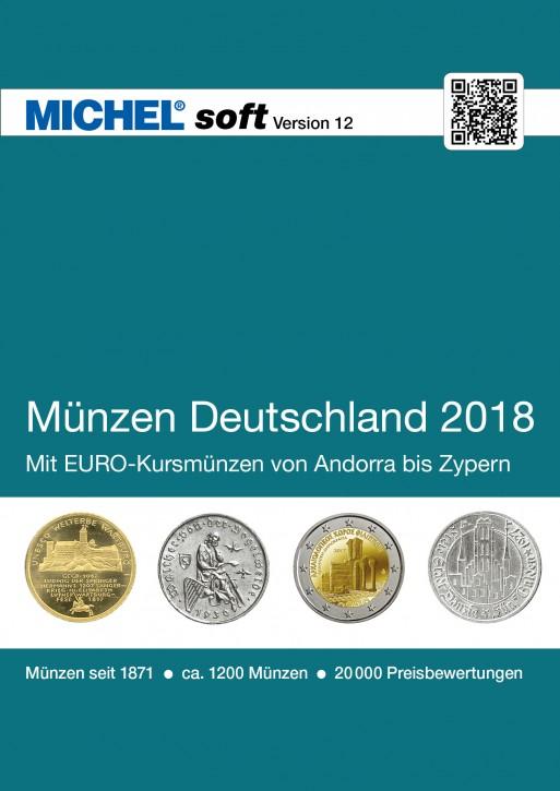 MICHELsoft Münzen Deutschland 2018 – Version 12