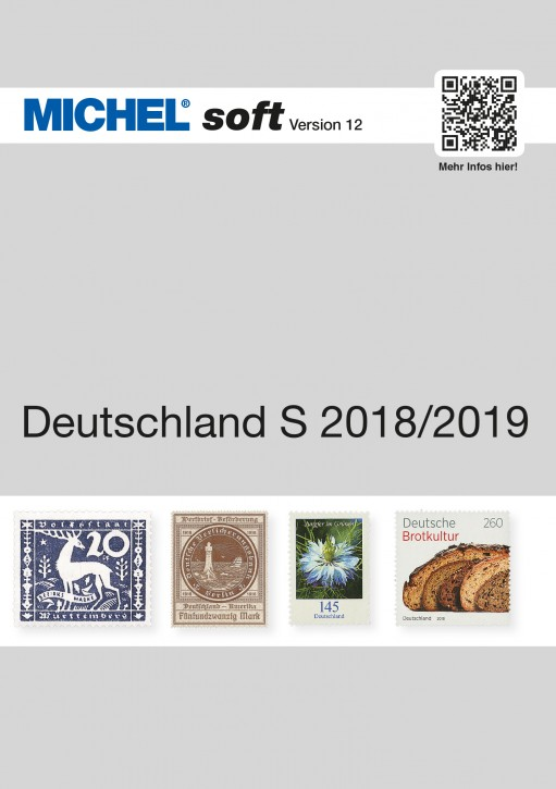 MICHELsoft Briefmarken Deutschland S 2018/2019 – Version 12