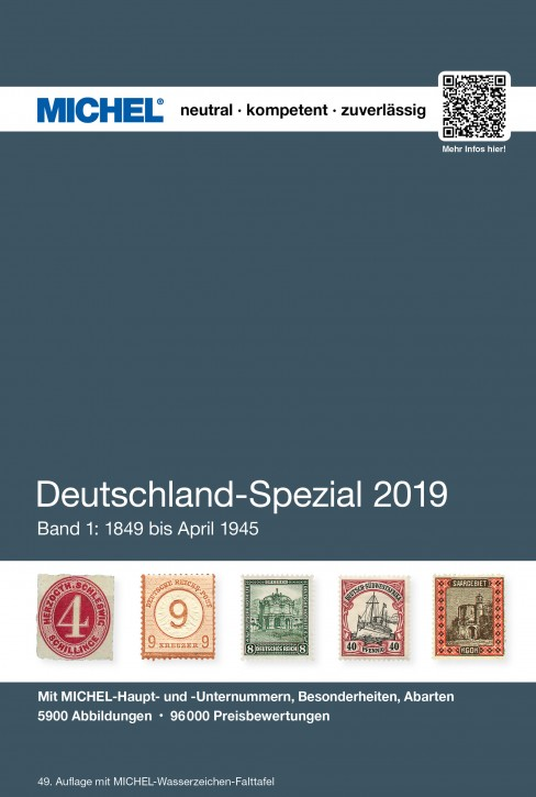 Germany Specialized 2019 – Volume 1 (1849–April 1945) (Ebook)