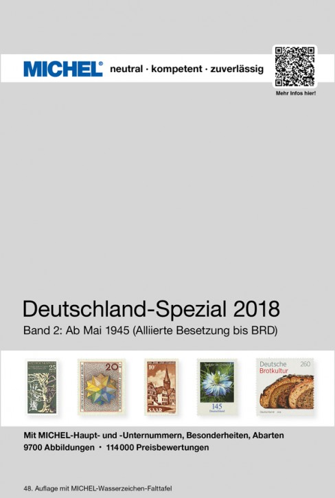 Germany Specialized 2018 – Volume 2 (as of May 1945)e 1 (1849–April 1945)
