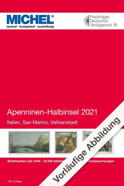 Apenninen-Halbinsel 2021 (E 5)