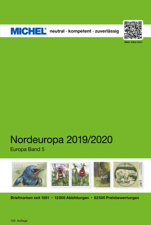 Northern Europe 2019/2020 EC 5 (Ebook)