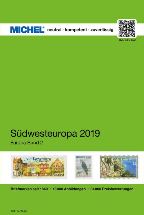 Southwestern Europe 2019 EC 2 (Ebook)