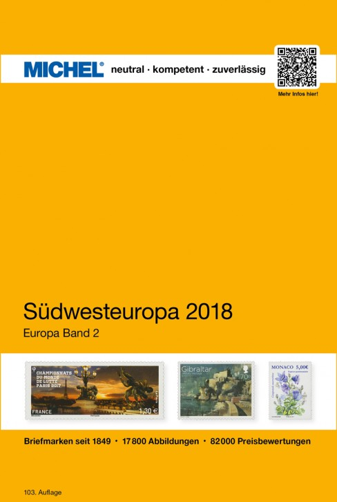Southwestern Europe 2018 EC 2 (ebook)