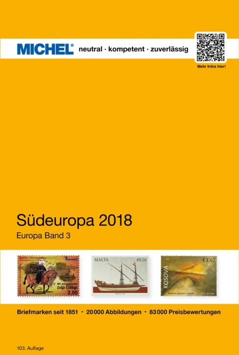 Southwestern Europe 2018 (ebook)