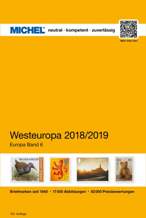 Western Europe 2018/2019 EC 6 (Ebook)