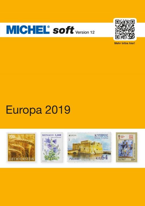MICHELsoft Briefmarken Europa 2019 – Version 12