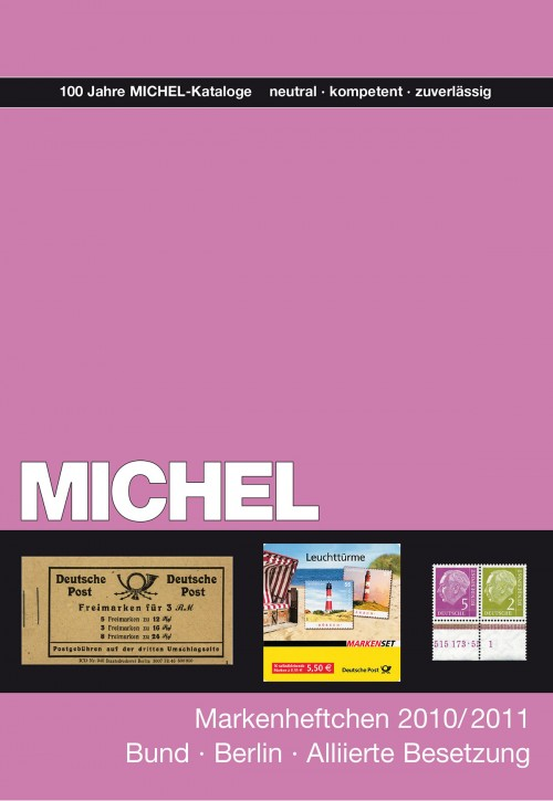 Handbuch Markenheftchen Alliierte Besetzung/Bund/Berlin 2010/2011