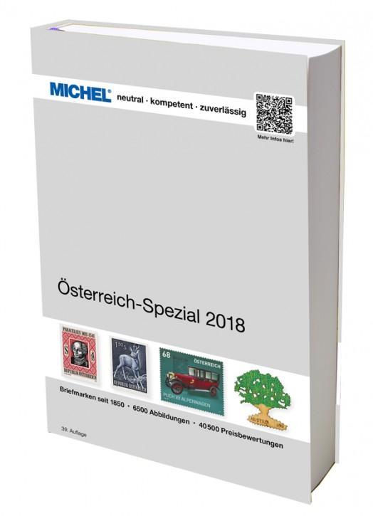 Österreich-Spezial 2018 – inkl. Ganzsachen