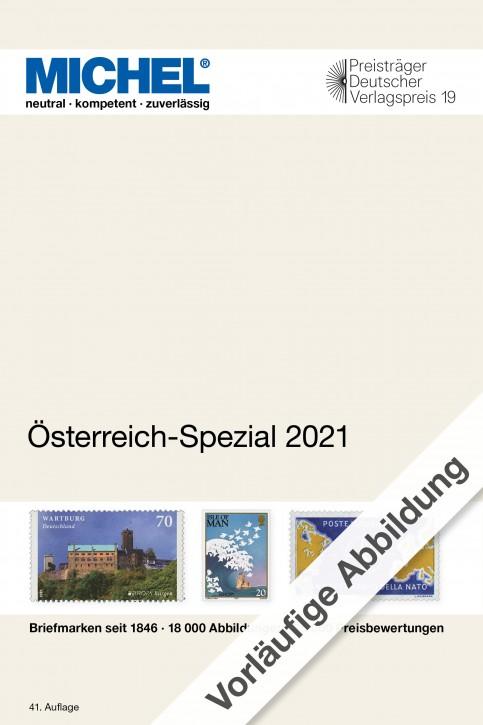Österreich-Spezial 2021 – inkl. Ganzsachen