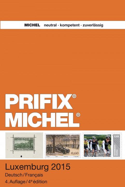 MICHEL-Prifix Luxemburg 2015 – Deutsch/Französisch