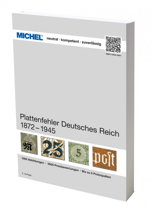 Plattenfehler Deutsches Reich 1872-1945