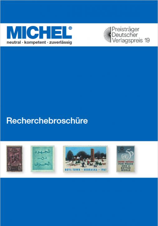 MICHEL Recherchebroschüre