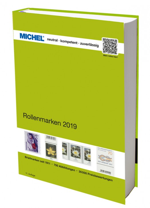 Coil Stamps Germany 2018/2019