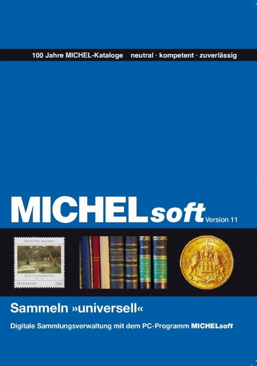 """MICHELsoft Sammeln """"universell"""" – Version 11"""
