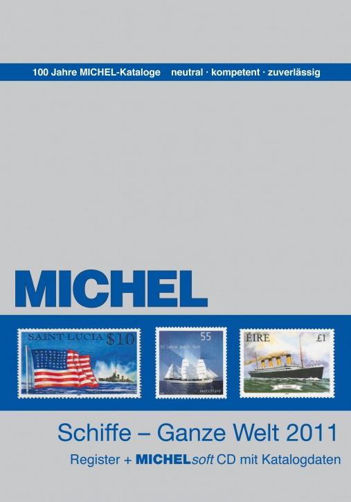 Motivregister Schiffe - Ganze Welt 2011 mit CD