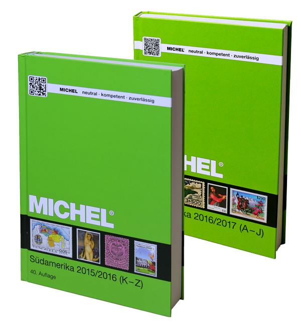 Set South America 2015-2017 (2 Volumes)