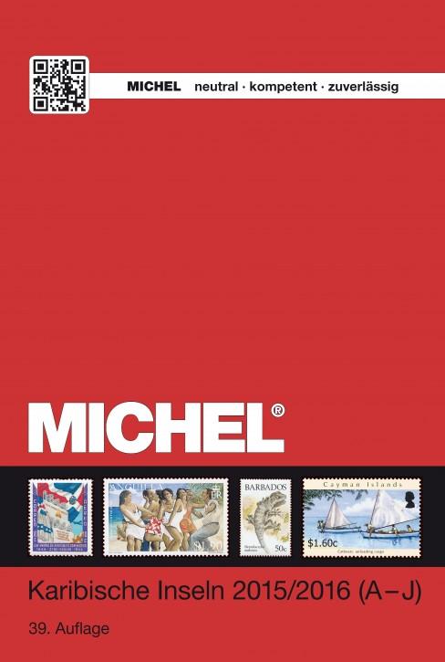 Karibische Inseln Katalog 2015/2016 (ÜK 2/1) - Band 1 (A-J) (E-Book)