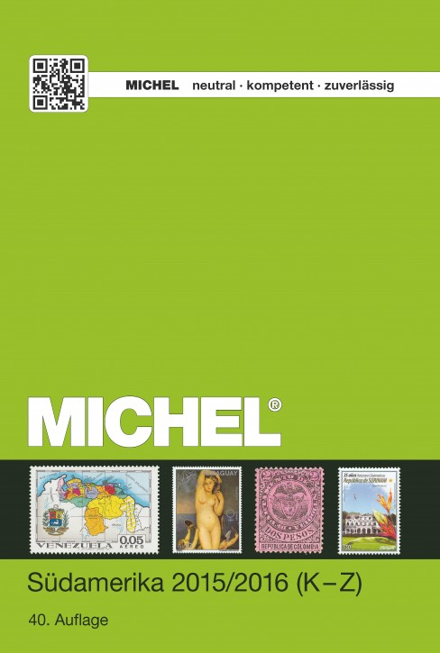 Südamerika-Katalog 2015/2016 (ÜK 3/2) – Band 2: K-Z (E-Book)