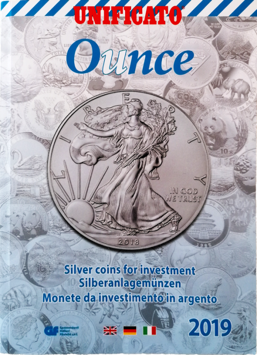 Ounce 2019. Silver coins for investments/Silberanlagemünzen
