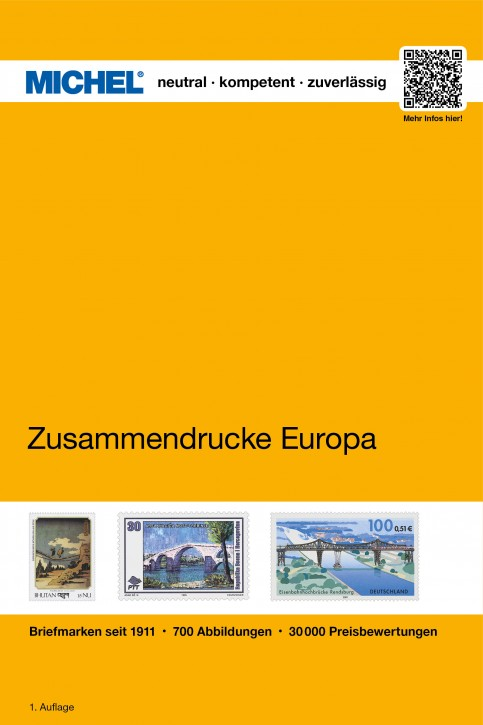 Zusammendrucke aus Markenheftchen Europas bis 2000