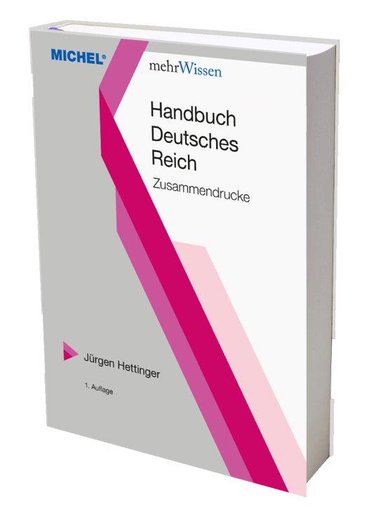 Handbook German Reich – Se-tenant Prints