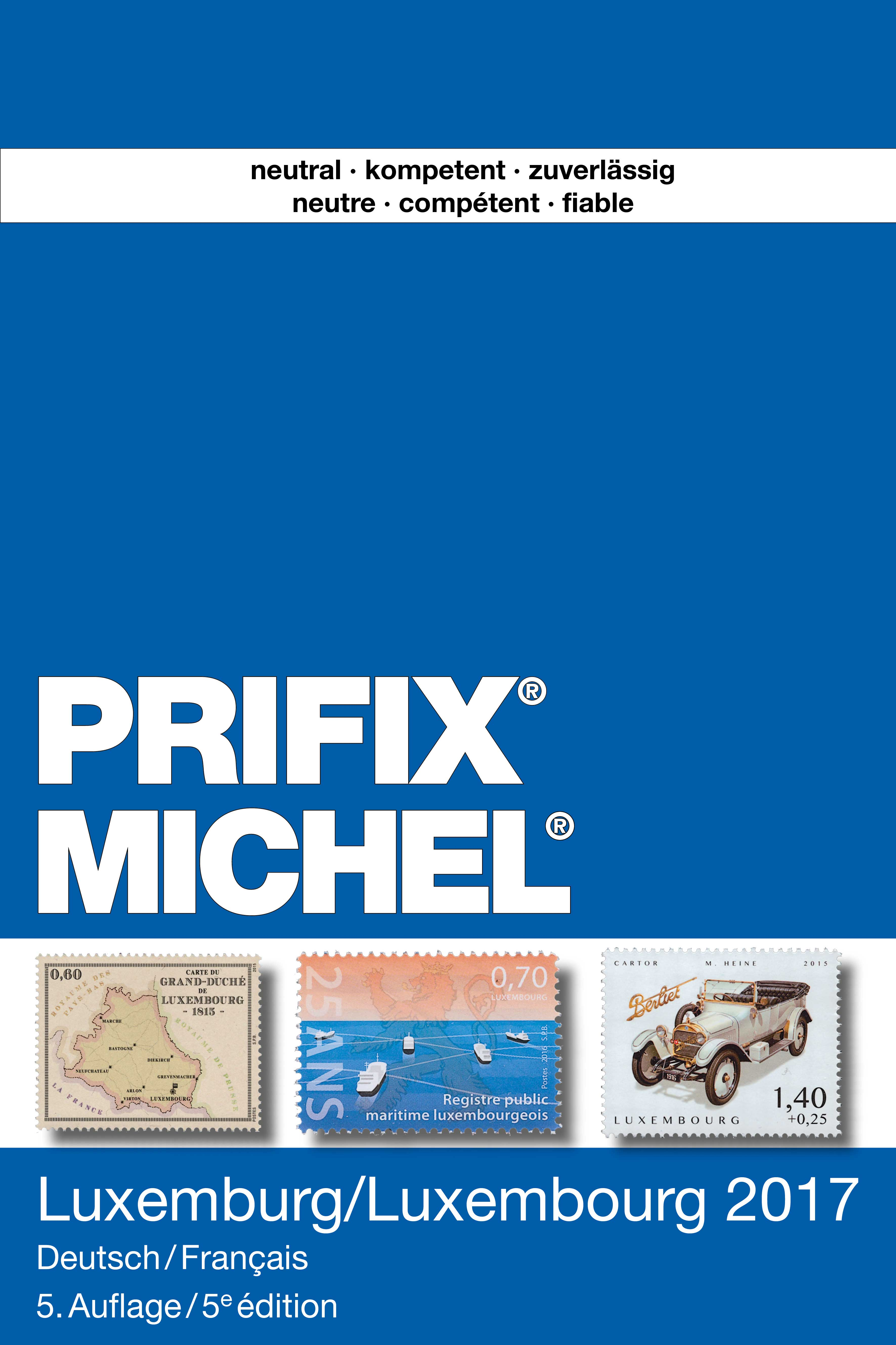 michel prifix katalog luxemburg 2017 deutsch franz sisch. Black Bedroom Furniture Sets. Home Design Ideas
