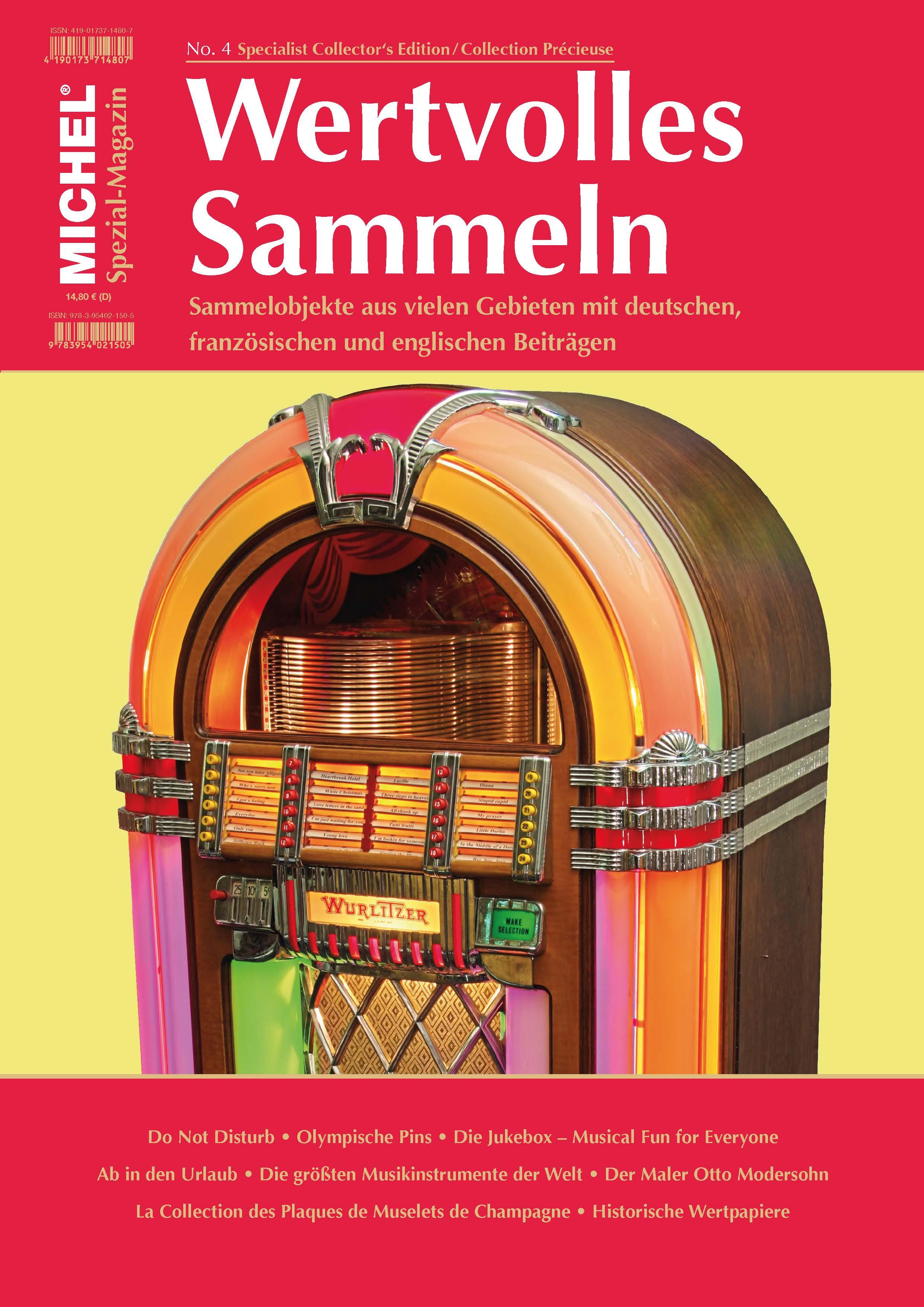 Spezial Magazin Wertvolles Sammeln Heft 4