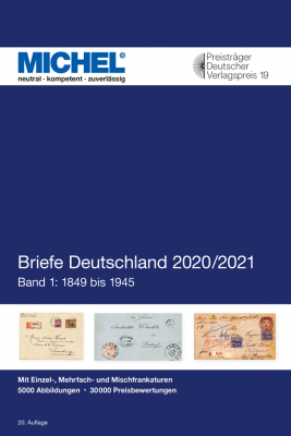Covers Germany 2020/2021 - Volume 1: 1849 - 1945