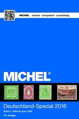 Deutschland-Spezial-Katalog 2016 – Band 1 (E-Book)